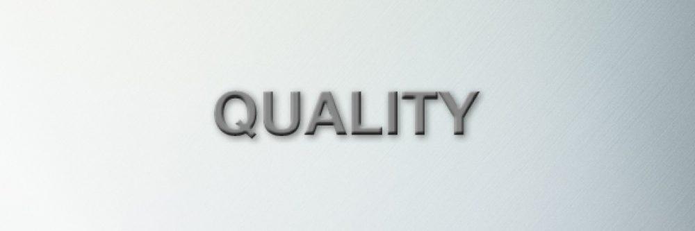 Wir stehen für Qualität und Verlässlichkeit der angebotenen Lösungen.