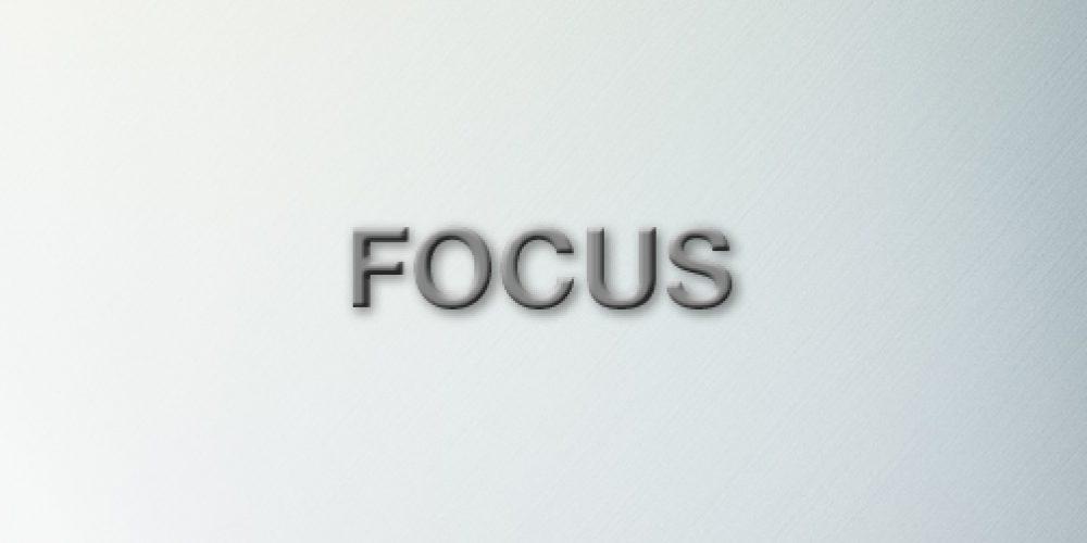 Wir konzentrieren uns auf das, was wir können und verfolgen unsere Ziele mit Überzeugung und Nachdruck.
